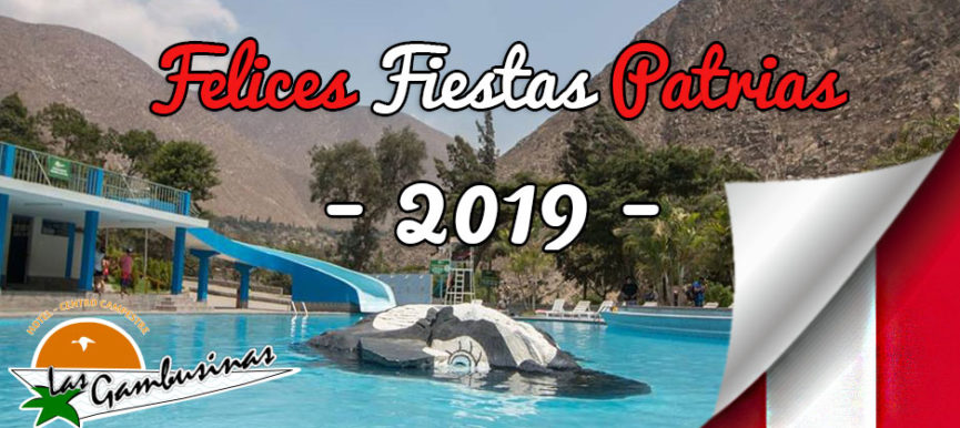 Paquetes por Fiestas Patrias 2019